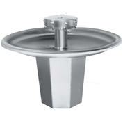Bradley SN2005 Sentry 5 Person Circular Bowl Washfountain W/Off-line Vent & Foot-Control