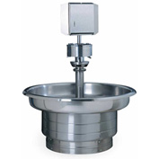 Bradley WF2708 Stainless Steel Classic 8 Person Washfountain W/Foot Control Valve & Off-line Vent