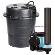 "Little Giant 506055 WRS Series 1/3HP Water Removal System - 115V- Integral- 7-10"" On Level"