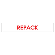 Printed Carton Sealing Tape - Repack - English - Pkg Qty 12