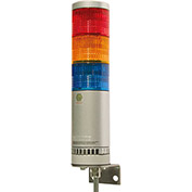 Patlite AR-078-011-2-RG Atex Zone 2, Zone 22 Continuous Light, Wall Mount, Red/Green Light, AC/DC24V