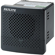 Patlite BDV-15JF-K 4-Channel MP3 Smart Alert, User Programmable, Dark Gray, DC12V to DC24V