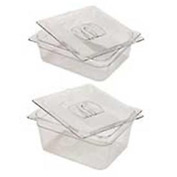 Rubbermaid Commercial Fg124p00 Clr Cold Food Container - 6-3/8 Quarts - Pkg Qty 6