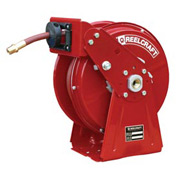 Dual Pedestal, 1/4 x 50ft, 300 psi, 35 lbs, Air/Water with Hose
