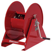 Hand Crank, 1/2 x 200ft, 1000 psi, Air/Water without Hose, Med Duty