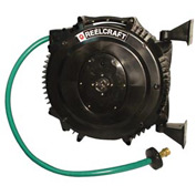 "Reelcraft SWA3850 OLP 5/8"" x 50' Retractable 125 PSI Hose Reel W/Hose"