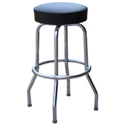 "Richardson Seating Swivel Barstool - 30""H - Black"