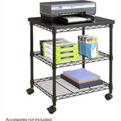 Safco® Deskside Wire Machine Stand - Black