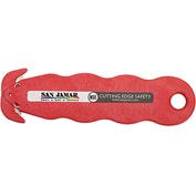 San Jamar KK403 - Klever Kutter Box Cutter, Red, NSF, 3 Pack
