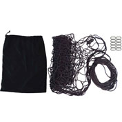"Snap-Loc SLAMCN96144 Military Cargo Net 96""x144"", Cinch Rope, 10 Snap-Hook Carabiner & Storage Bag"