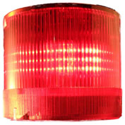 Springer Controls / Texelco LA-42-24 70mm Stack Light, TriFunction (S,F,R), 24V AC/DC LED - Red