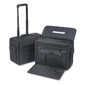 Stebco Ballistic Catalog/Computer Case On Wheels