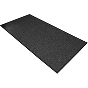 "NoTrax Polynib 3/8"" Thick Entrance Floor Mat, 2' x 3' Charcoal"