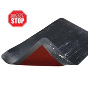 Marble Sof-Tyle Grande RedStop Mat - 3' x 5' Black