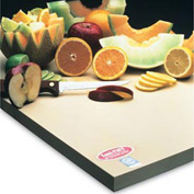 "Sani-Tuff® All-Rubber Cutting Board - 12"" x 18"" x 1"""