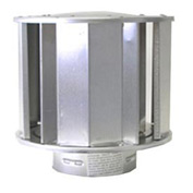"""SunStar 4"""" Vent Cap for Sidewall or Roof Vent 30297040"""