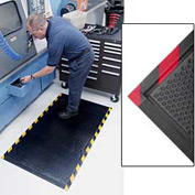 Happy Feet Grip Mat Red Border 2x3