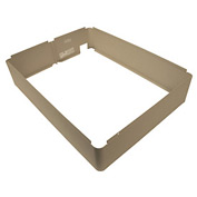 TPI Fan Forced Wall Heater Surface Mounting Frame, 03299502, Ivory