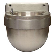 "Wall Mount Well Urn, Aluminum, 9.5""W x 8""H x 9.5""D"