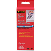 """Scotch® Precut Removable Mounting Tabs, Double-Sided, 1/2"""" x 3/4"""", 144/Pack"""