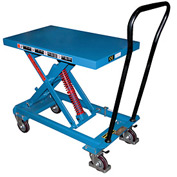 "Vestil Self-Elevating Lift Cart SCSC-800-2040 20""W x 40""L Platform"