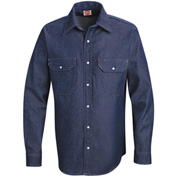 Red Kap® Men's Deluxe Denim Shirt Long-L SD78-SD78DNLNL