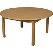 "Wood Designs 24"" X 36"" Rectangle High Pressure Laminate Activity Table with Hardwood Legs 24"""