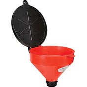 "Wirthco Funnel King® 4 Qt. Drum Funnel 32425 with 2"" Threads & Lockable Lid"