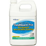 VandlGuard Five RTU Anti-Graffiti Non-Sacrificial Coating, Gallon Bottle 1/Case - VG-7005