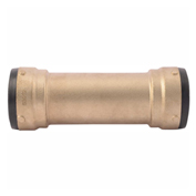 "Slip Coupling - 2"" x 2"" - Brass - Push-Fit - SharkBite SB0654"