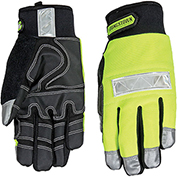 High Visibility Performance Gloves - Safety Lime - Winter - Extra Large