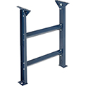 """Omni Metalcraft 2.5"""" Roller Conveyor Leg Support 12""""W I.D. with 30"""" to 42""""H"""