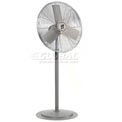"TPI 24"" Pedestal Fan Non Oscillating 1/4 HP 6800 CFM Totally Enclosed Motor"