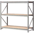 "Extra High Capacity Bulk Rack With Wood Decking 72""W x 24""D x 72""H Starter"