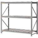 "Extra High Capacity Bulk Rack With Steel Decking 96""W x 48""D x 120""H Starter"