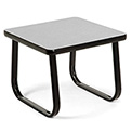 "OFM Reception Side Table - 20"" - Gray"