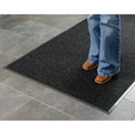 Deep Cleaning Ribbed Entrance Mat 3x4 Charcoal