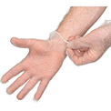 Disposable Vinyl Gloves - Powder-Free, Medium, Clear, 100/Box