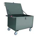 Jamco Solid Panel Box Truck BL236 36x24 1200 Lb. Capacity with Lid