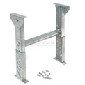 """Leg Support 22"""" to 28""""H for Omni Metalcraft 24"""" Between Frame Width Ball Transfer Table"""
