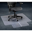 "Aleco® Office Chair Mat for Carpet - 45""W x 53""L with 25"" x 12"" Lip - Straight Edge"