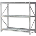 "Extra High Capacity Bulk Rack With Wire Decking 96""W x 18""D x 72""H Starter"