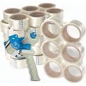 "3M™ 371 Carton Sealing Tape 2"" x 55 Yds. 1.9 Mil Clear + FREE Dispenser"