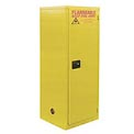 "Global&#8482 Slim Flammable Cabinet BJ60 - Self Close Single Door 60 Gallon - 23""W x 34""D x 65""H"