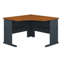 Corner Desk in Cherry - Modular Office Furniture