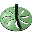 Leisure Craft Outdoor Umbrella Base - Green