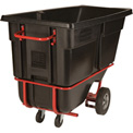 Rubbermaid® 1315-42 Tilt Truck with Fork Lift Pockets 1 Cu Yd 1250 Lb Cap