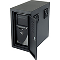 Orbit CPU Cabinet with Fans - Black