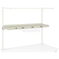 "72""W Shelf with Electrical - Tan"