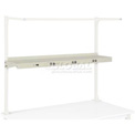 "96""W Shelf with Electrical - Tan"